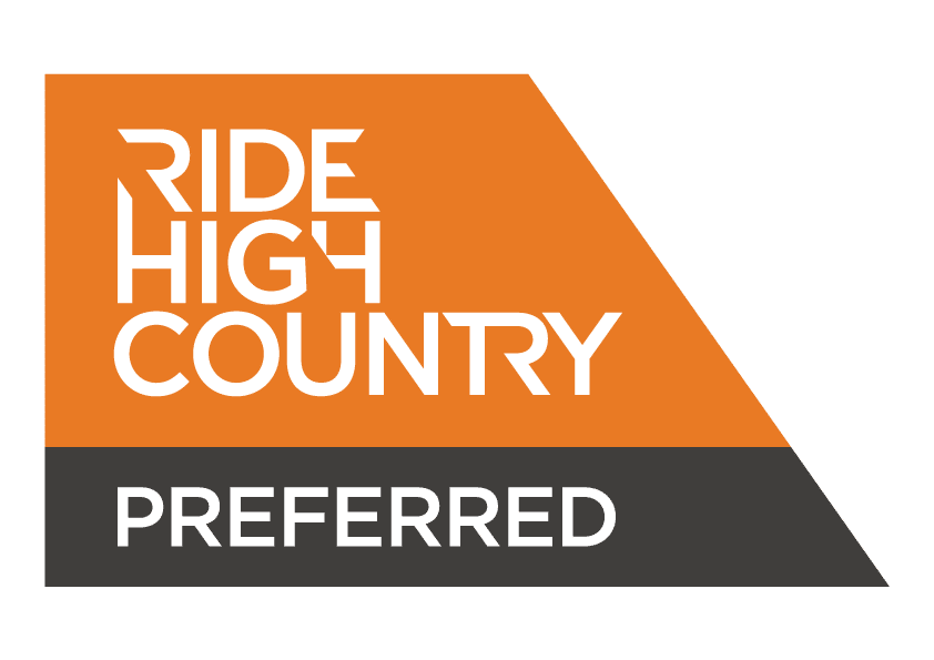Ride High Country logo