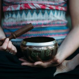 Emily Rose Yoga Workshop Yin Yan Seasonal Series - Summer - Singing Bowl